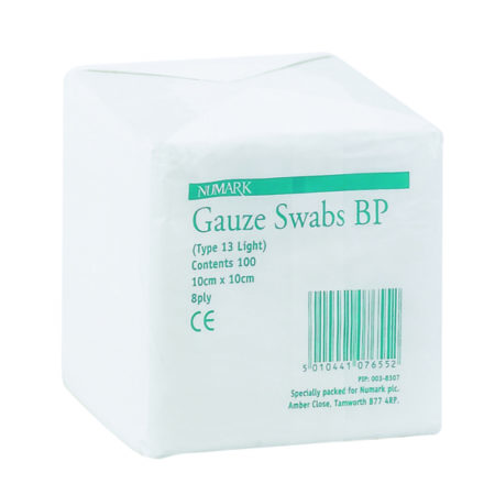 Numark Gauze Swabs BP Type 13 LT