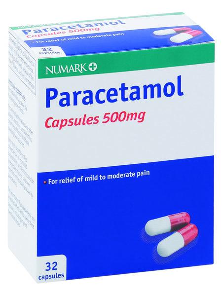Numark Paracetamol 500mg Capsules