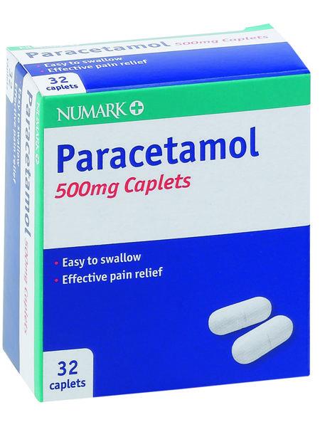 Numark Paracetamol 500mg Caplets