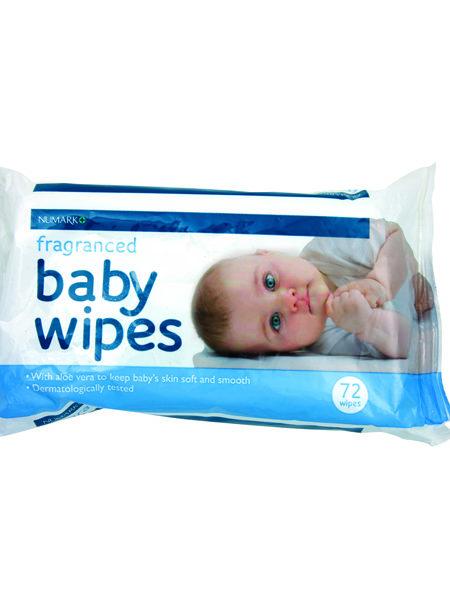 Numark Fragranced Baby Wipes