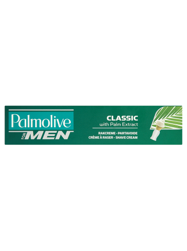 Palmolive for Men Classic Shave Cream with Palm Extract 100ml
