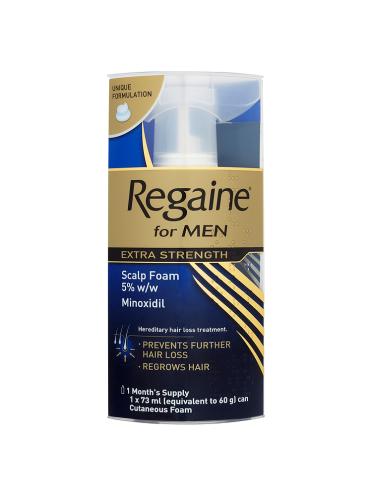 Regaine for Men Extra Strength Scalp Foam 73ml