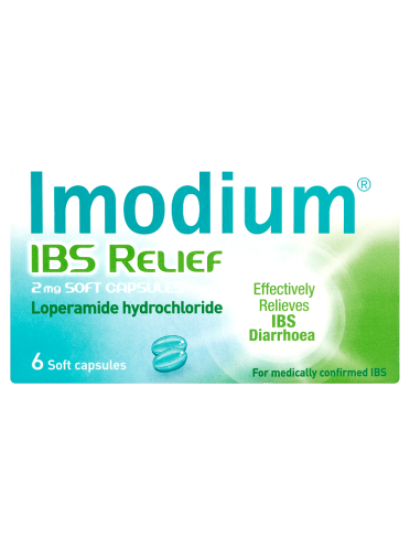 Imodium IBS Relief 2mg Soft Capsules 6 Soft Capsules