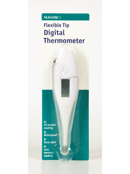Numark Flexible Tip Digital Thermometer.