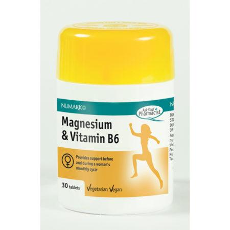 Magnesium & Vitamin B6 Tablets