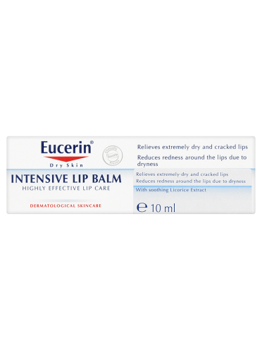 Eucerin Dry Skin Sensitive Lip Balm 10ml