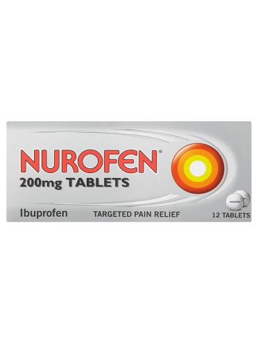Nurofen 200mg Tablets 12 Tablets