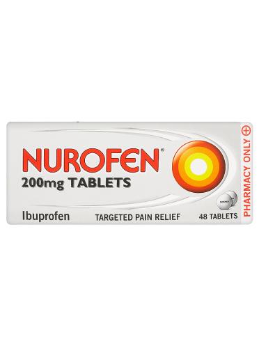 Nurofen 200mg Tablets 48 Tablets