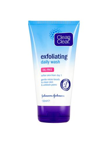 Clean & Clear Exfoliating Daily Wash 150ml