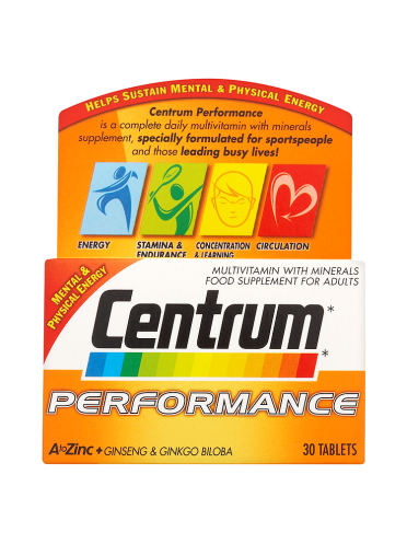 Centrum Performance 30 Tablets
