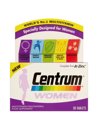 Centrum Women 30 Tablets