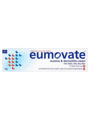Eumovate Eczema & Dermatitis Cream 15g