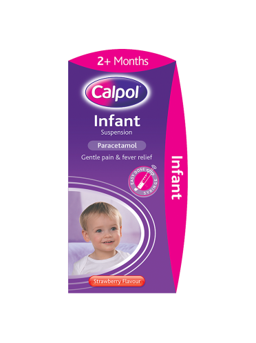 Calpol Infant Suspension Strawberry Flavour 2+ Months 200ml
