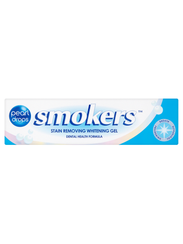 Pearl Drops Smokers Stain Removing Whitening Gel 50ml