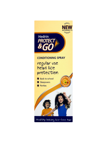 Hedrin Protect & Go Conditioning Spray Orange+Mango Fragrance 120ml