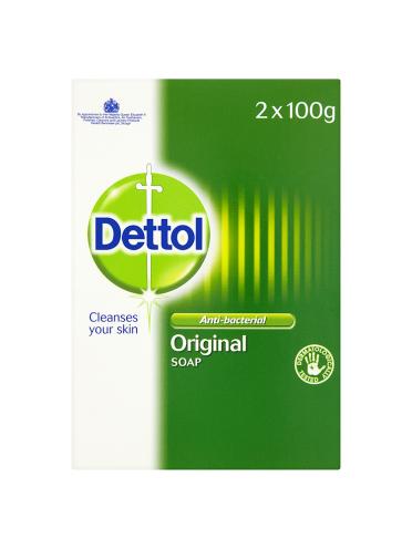 Dettol Anti-Bacterial Original Soap 2 x 100g