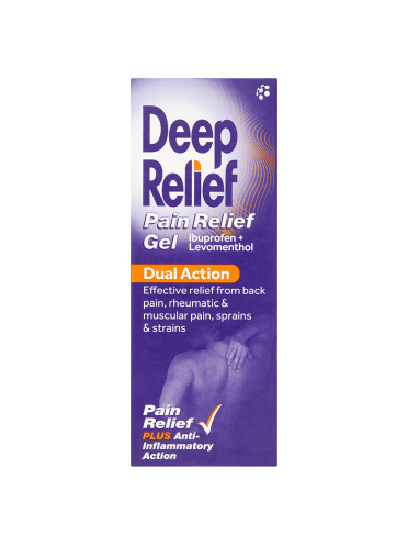Deep Relief Dual Action Pain Relief Gel 30g