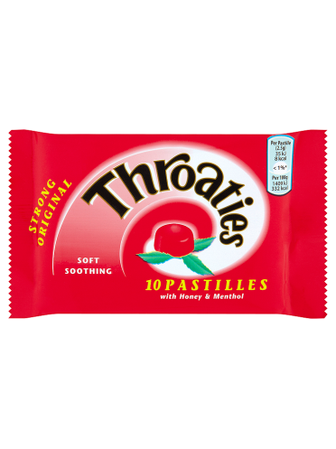 Throaties Strong Original 10 Pastilles