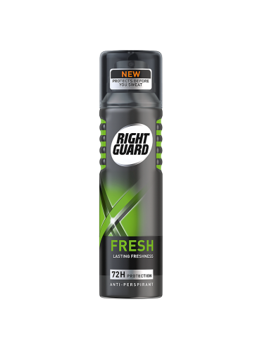 Right Guard Xtreme Fresh Maximum Strength Anti-Perspirant 72H Protection 150ml