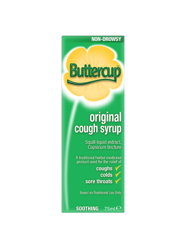 Buttercup Original Cough Syrup 75ml