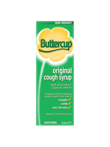 Buttercup Original Cough Syrup 200ml
