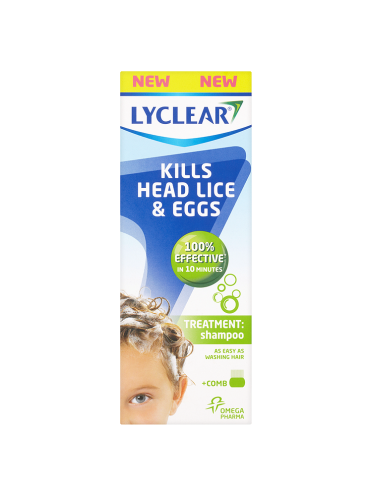 Lyclear Treatment Shampoo + Comb 200ml