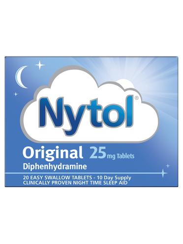 Nytol Original 25mg Tablets 20 Tablets