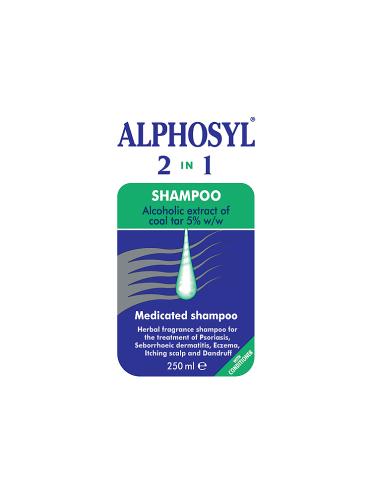Alphosyl 2 in 1 Medicated Shampoo 250ml