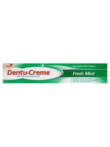 Dentu-Creme Denture Cleansing Paste Fresh Mint 75ml