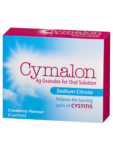 Cymalon 4g Granules for Oral Solution Sodium Citrate Cranberry Flavour 6 Sachets