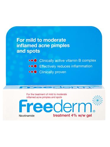Freederm Treatment 4% w/w Gel 25g