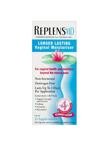 Replens MD Longer Lasting Vaginal Moisturiser 35g