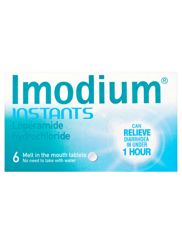 Imodium Instants 6 Melt In The Mouth Tablets