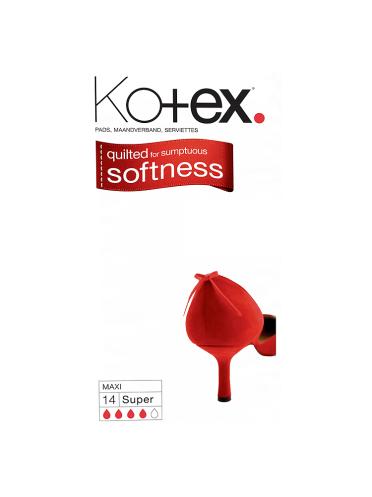Kotex Maxi Towels Super x14