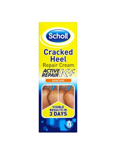 Scholl Skin Care Cracked Heel Repair Cream Active Repair K+ 60ml