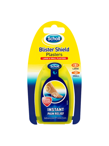 Scholl Blister Shield Plasters Large & Small Plasters