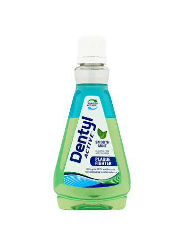 Dentyl Active Plaque Fighter Smooth Mint Mouthwash 100ml