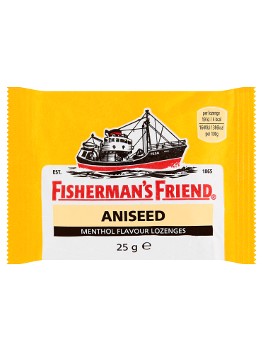 Fisherman s Friend Aniseed Menthol Flavour Lozenges 25g