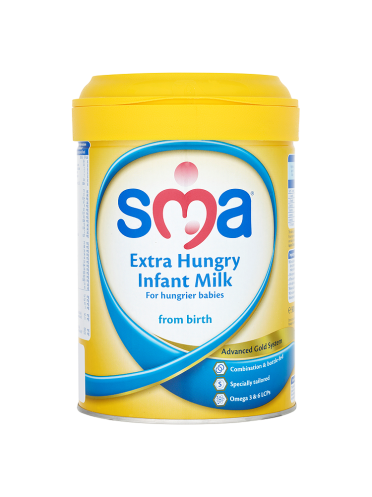 SMA Extra Hungry Infant Milk From Birth 900g