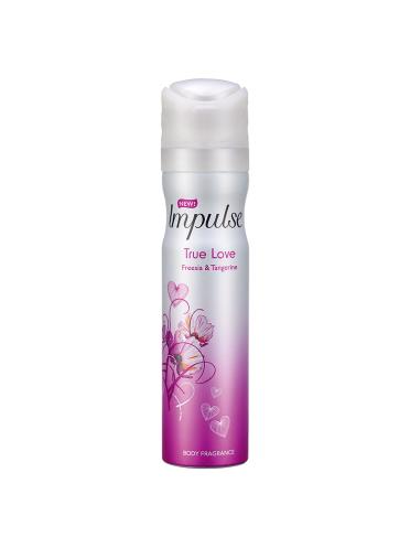 Impulse True Love Body Spray 75ml