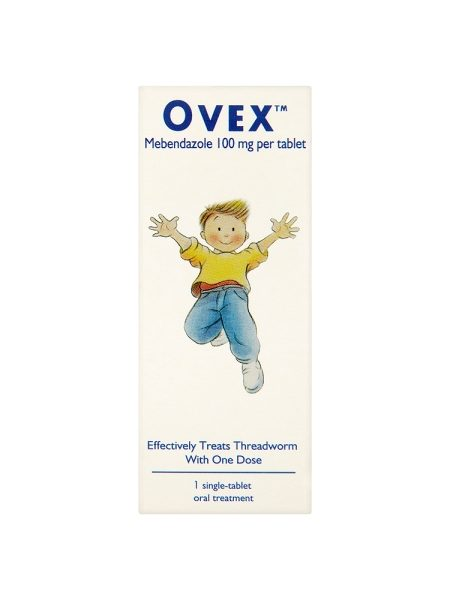 Ovex Single-Tablet Treatment For Threadworms