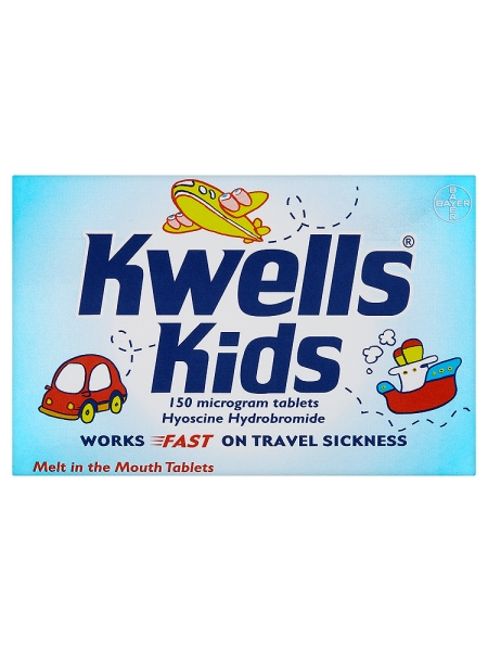 Kwells Kids 150 Microgram Tablets 12 Tablets
