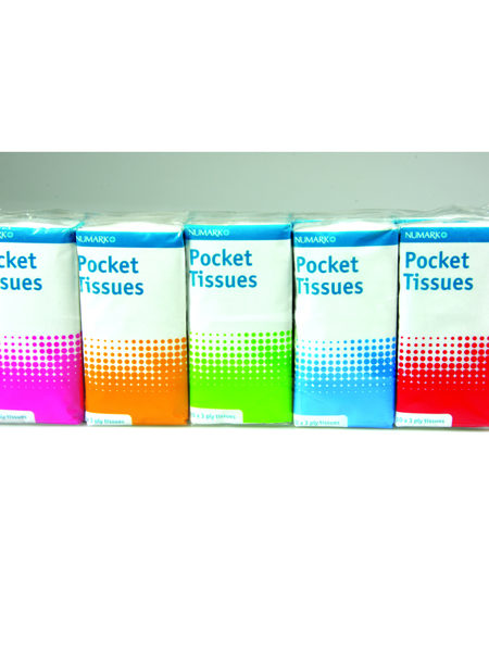 Numark Pocket Tissues