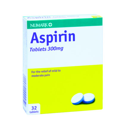 Numark Aspirin 300mg Tablets