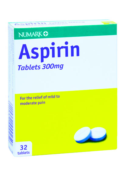 Numark Aspirin 300mg Tablets