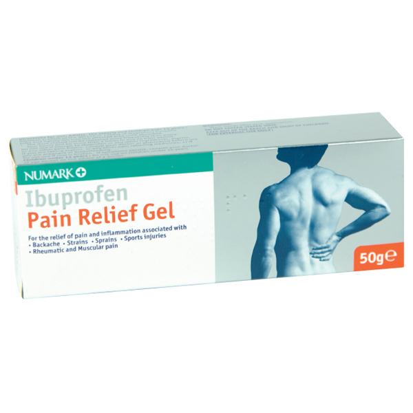 Numark Ibuprofen Pain Relief 5% Gel