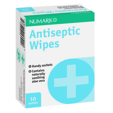 Numark Antiseptic Wipes