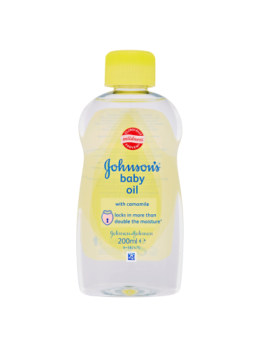 Johnson's Baby Oil with Camomile 200ml