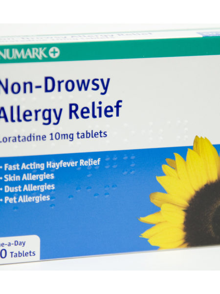 Numark Non-Drowsy Hayfever & Allergy Relief Tablets