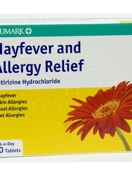 Numark Hayfever & Allergy Relief Tablets